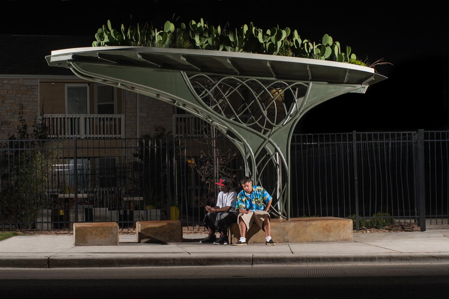 Green Roof Bus Shelter Project