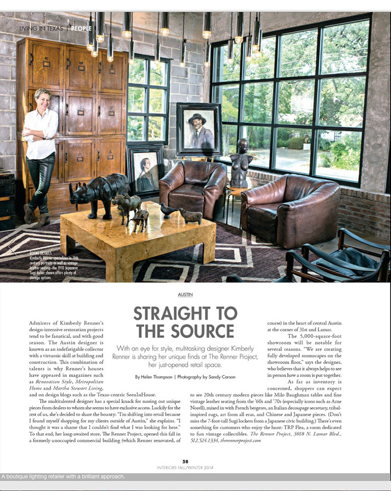Texas Modern Luxury Interiors